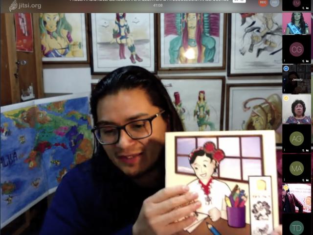 Luis Chalí, artista.