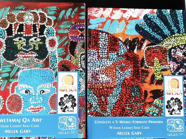 Libro Conócete a Ti Mismo de Wilson Sotz / Foto: Eslly Melgarejo-ADESCA-