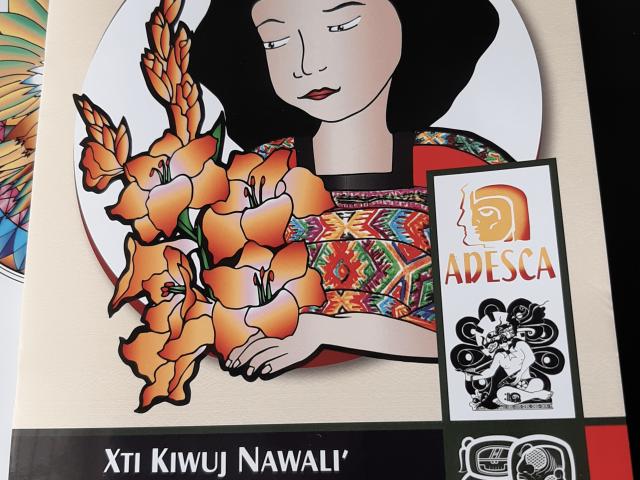 Libro Xti Kimuj Nawali´de Wilson Sotz/ Foto: Eslly Melgarejo-ADESCA-